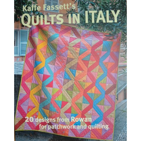 Boek Quilts in Italy door Kaffe Fassett