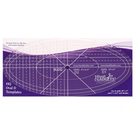 HQ Oval D Templates HG00620